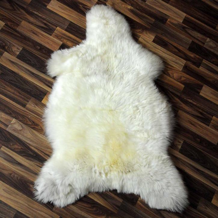 XXL ÖKO Schaffell Fell creme weiß 125x80 sheepskin #2074