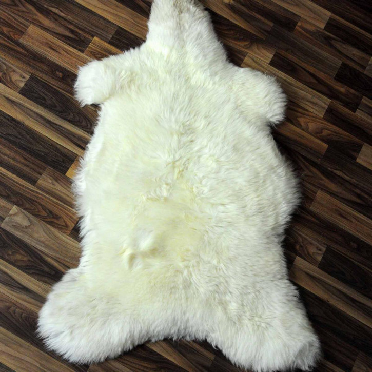 XL ÖKO Schaffell Fell creme weiß 115x75 sheepskin #2086
