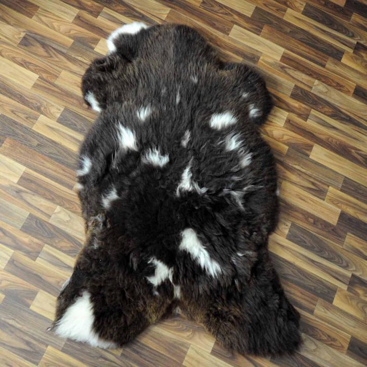 XXL ÖKO Schaffell Fell creme weiß 120x75 sheepskin #2309