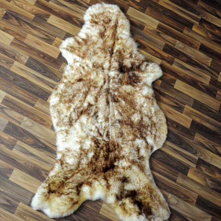 ÖKO Island Schaffell creme weiß 105x75 Fell Auflage #2356