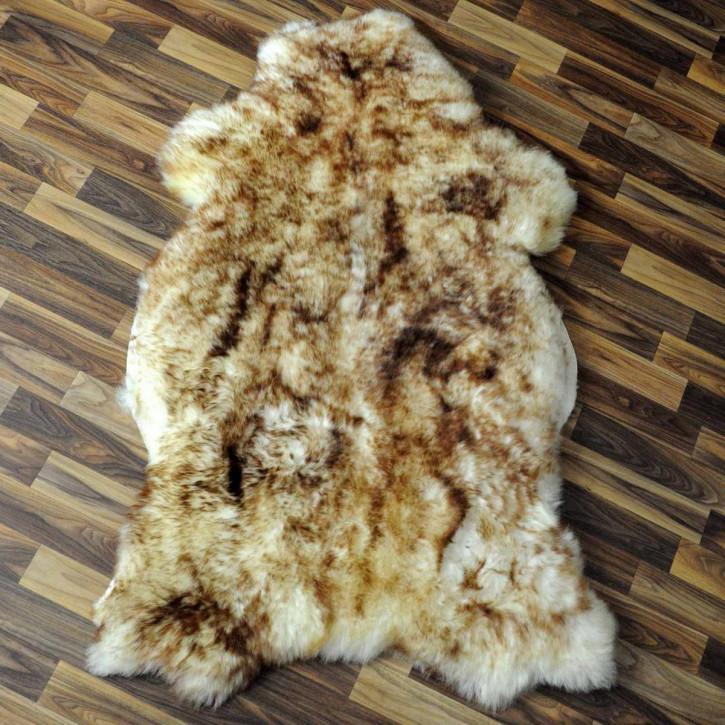 ÖKO Island Schaffell creme weiß 105x65 Fell Auflage #2359