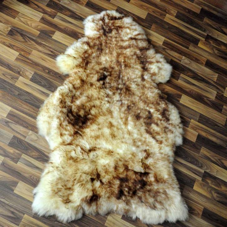 ÖKO Island Schaffell creme weiß 100x70 Fell Auflage #2360