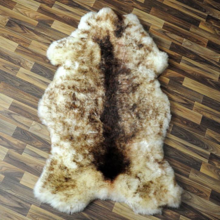 XL Schaffell Fell creme weiß 110x60 Stuhl Couch Auflage #2526