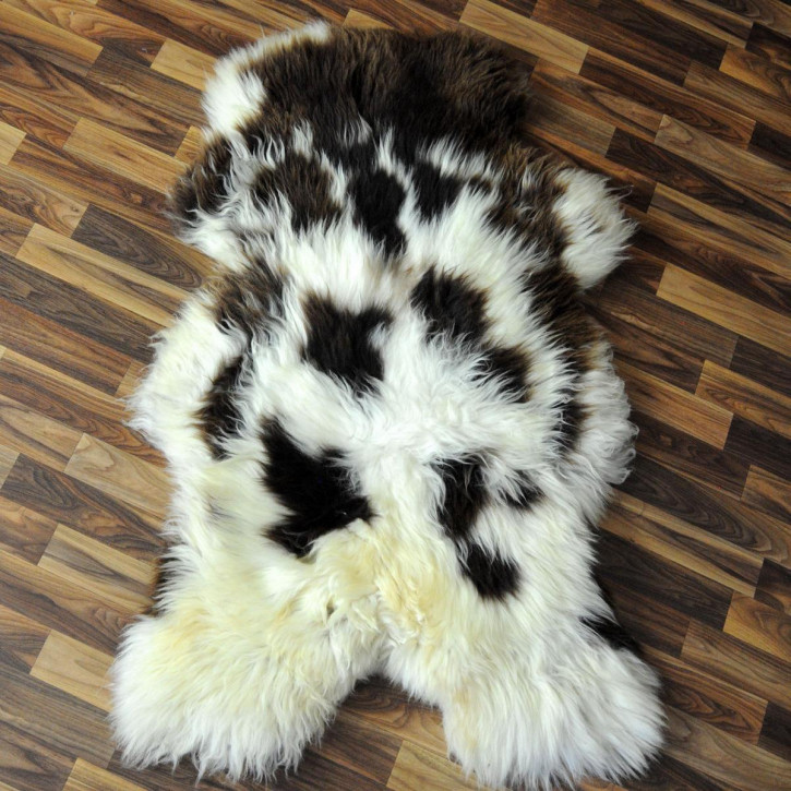 XL Schaffell Fell creme weiß 110x70 Stuhl Couch Auflage #2536