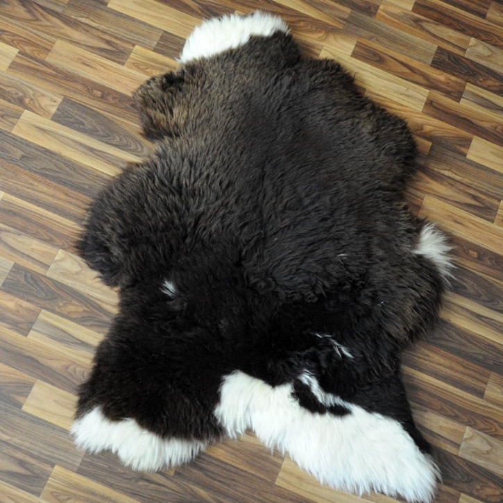 XL Schaffell Fell creme weiß 115x65 Stuhl Couch Auflage #2546