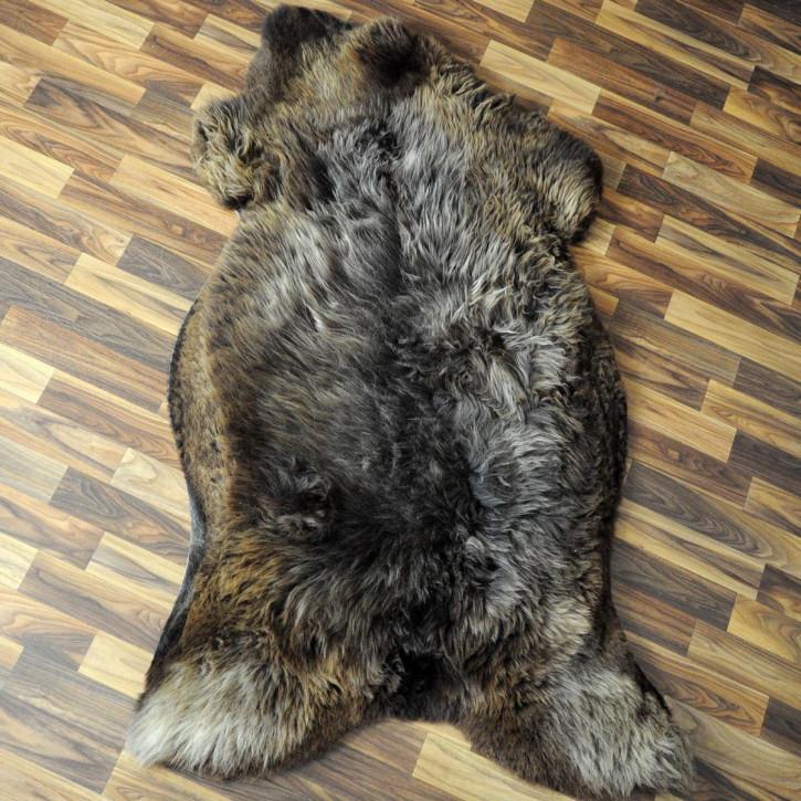 XL Schaffell Fell creme weiß 115x70 Stuhl Couch Auflage #2556