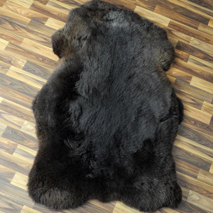XL Schaffell Fell creme weiß 110x65 Stuhl Couch Auflage #2557