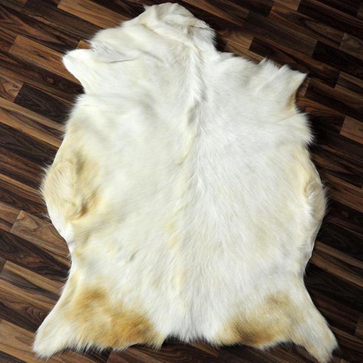 Island Schaffell grau schwarz geflammt 105x65 Auflage #2717
