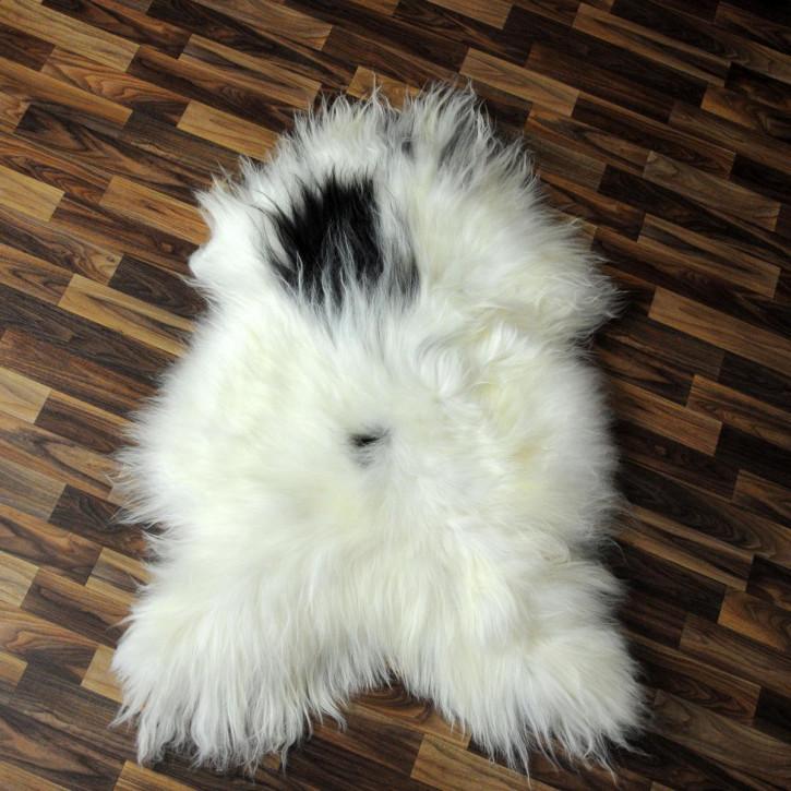 XXXL ÖKO Schaffell Fell creme weiß braun 135x85 sheepskin #2841