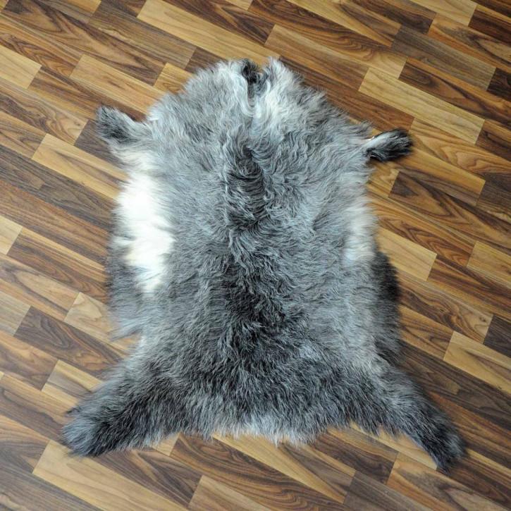 XL ÖKO Island Schaffell schwarzbraun 110x70 #3013