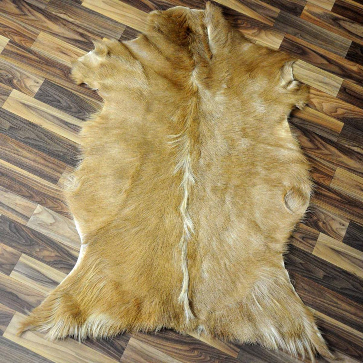 XXL ÖKO Island Schaffell schwarzbraun weiß 120x70 #3015