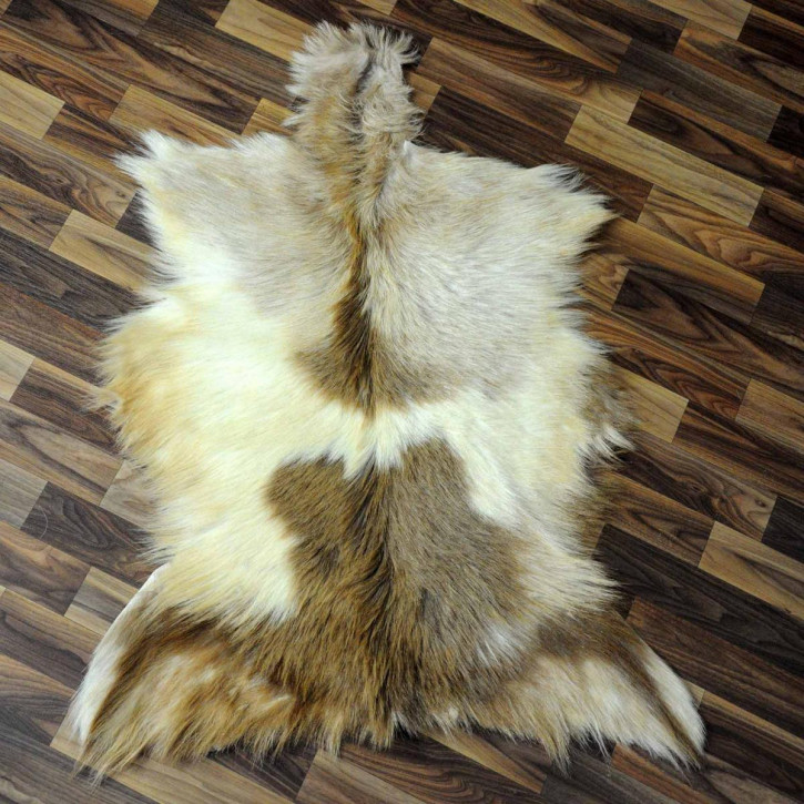 XL ÖKO Island Schaffell schwarzbraun 110x70 #3016