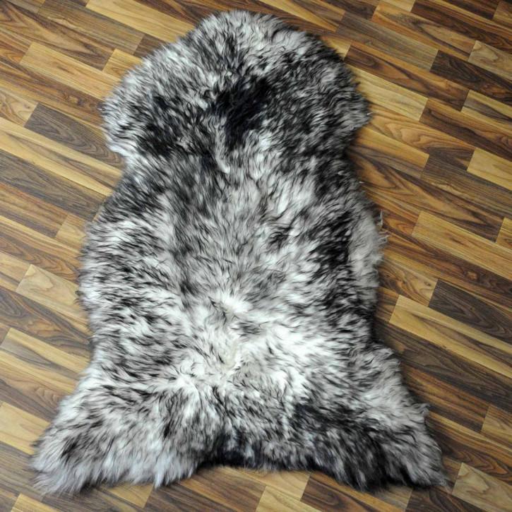 XL ÖKO Schaffell Fell braun 110x70 Braunbär Teppich #3049
