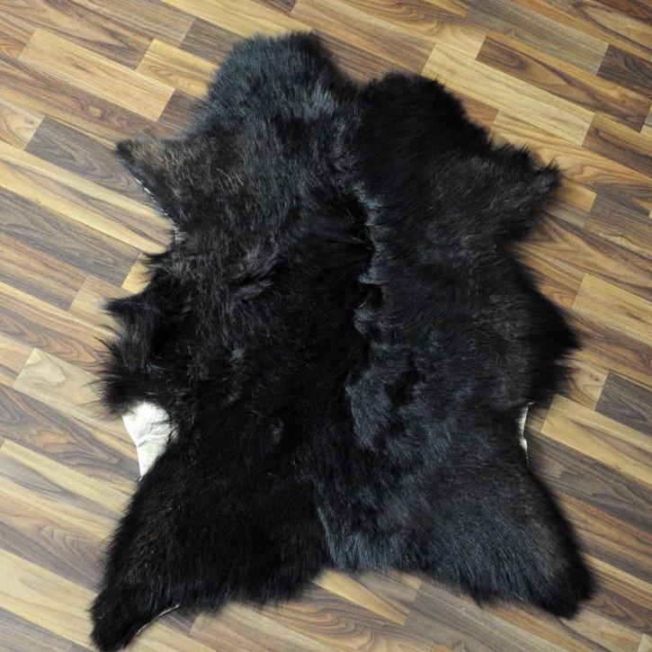 XXXL Schaffell Fell creme weiß braun 130x80 Auflage #3481