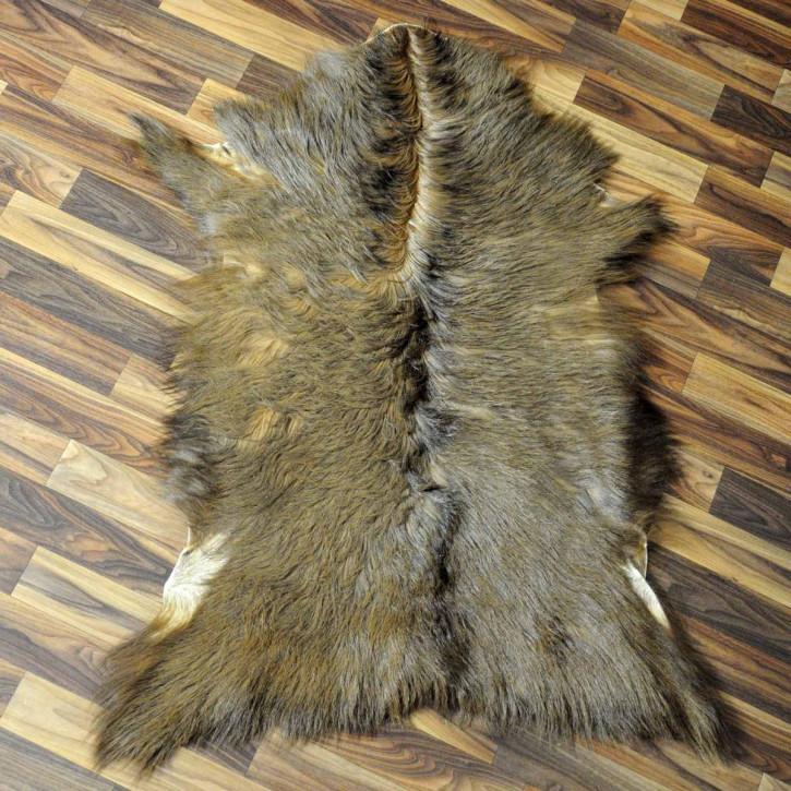 XXXL Schaffell Fell creme weiß 135x85 Auflage Teppich #3483