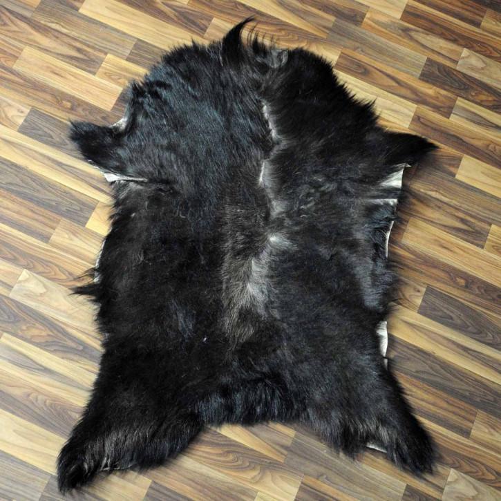 XXXL Schaffell Fell creme weiß 130x80 Auflage Teppich #3485