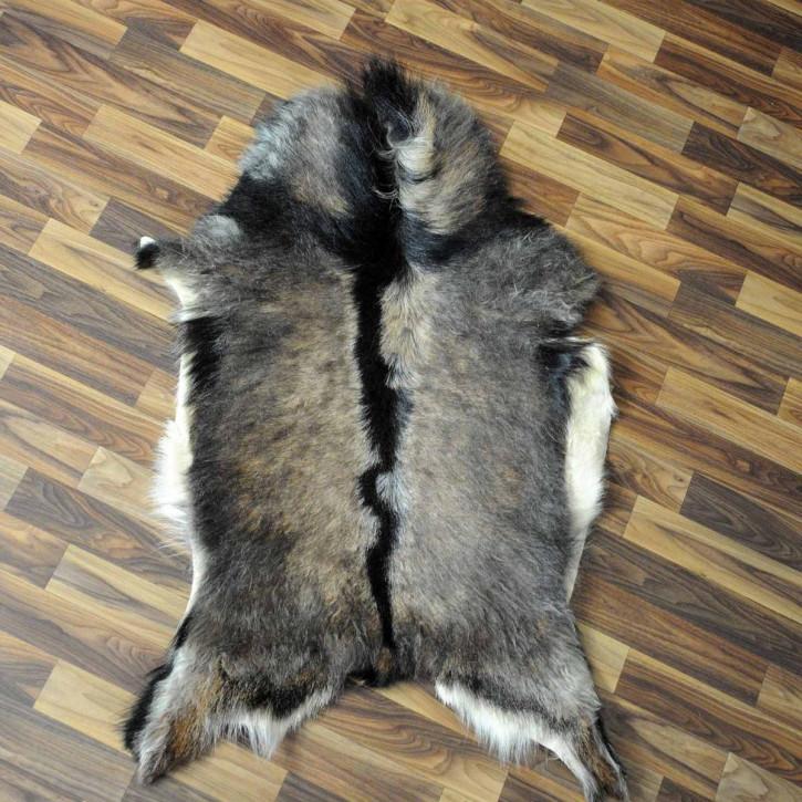 XXXL Schaffell Fell creme weiß braun 135x80 Auflage #3487