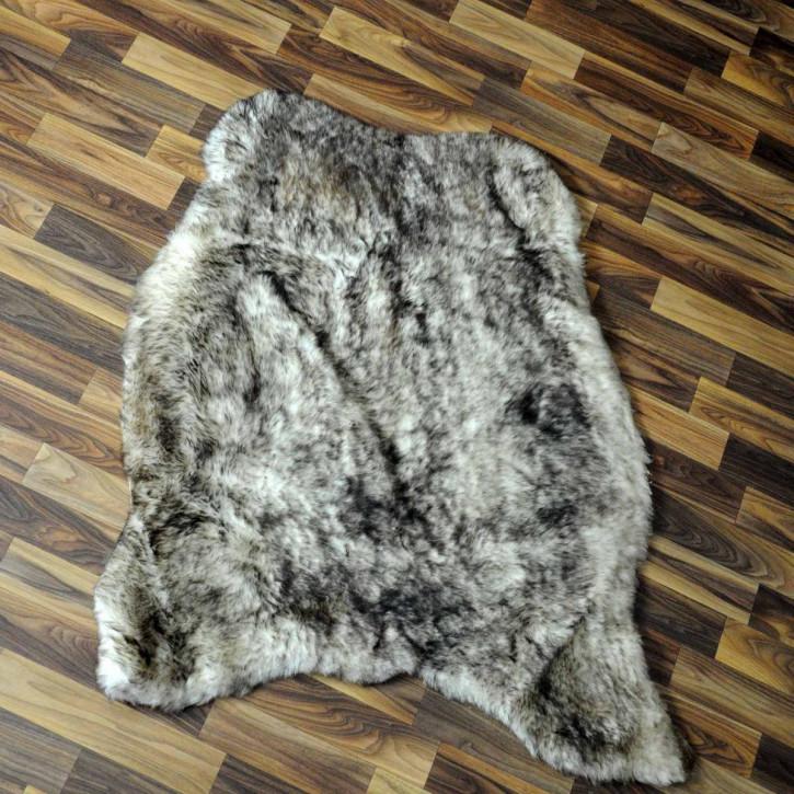 XXXL Schaffell Fell creme weiß 130x80 Couch Stuhl Auflage #3500