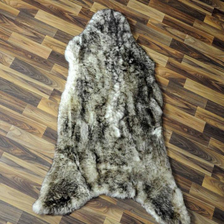XXXL Schaffell Fell creme weiß 135x80 Couch Stuhl Auflage #3501