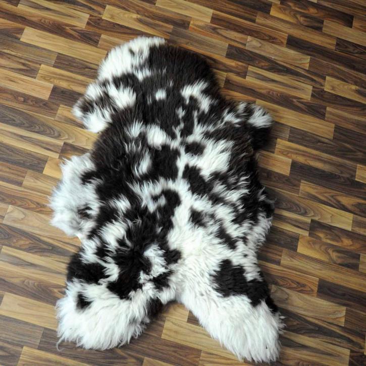 XXXL Schaffell Fell creme weiß 130x75 Couch Stuhl Auflage #3606