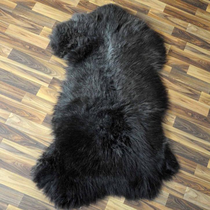 XXXL Schaffell Fell creme weiß 135x85 Couch Stuhl Auflage #3611