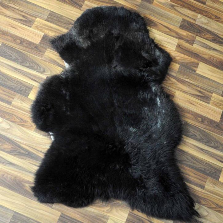 XL Schaffell Fell creme weiß braun 115x75 Stuhl Couch Auflage #3614