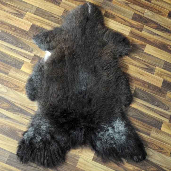 XXL Schaffell Fell creme weiß 120x75 Stuhl Couch Auflage #3619