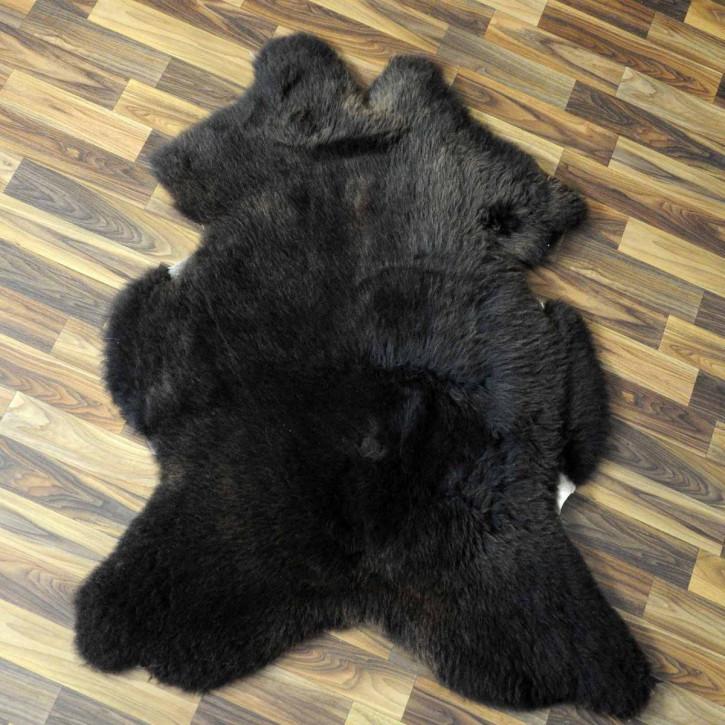 XXL Schaffell Fell creme weiß 120x80 Stuhl Couch Auflage #3638