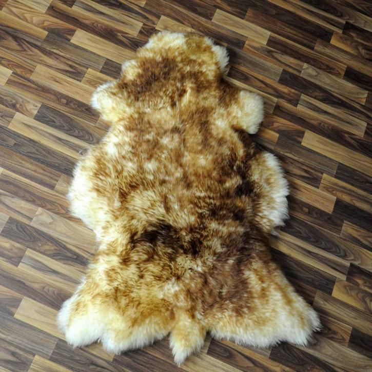 ÖKO Island Schaffell natur grau schwarzbraun 100x70 #3678