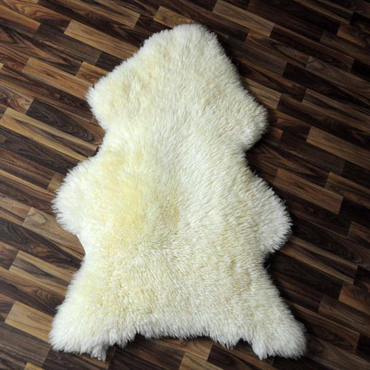 XL Schaffell Fell creme weiß 110x70 Stuhl Couch Auflage #3737