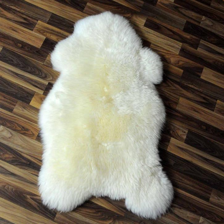 XXXL ÖKO Schaffell Fell creme weiß 140x85 sheepskin #3830