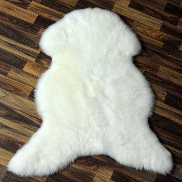 XL ÖKO Island Schaffell schwarzbraun weiß 115x75 #3871
