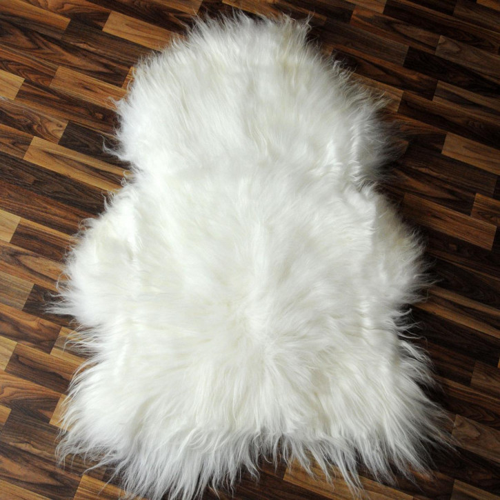 XL ÖKO Island Schaffell creme weiß 110x75 Fell Auflage #3962