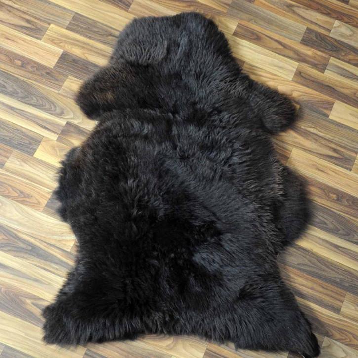 XL ÖKO Island Schaffell creme weiß 110x75 Fell Auflage #3963