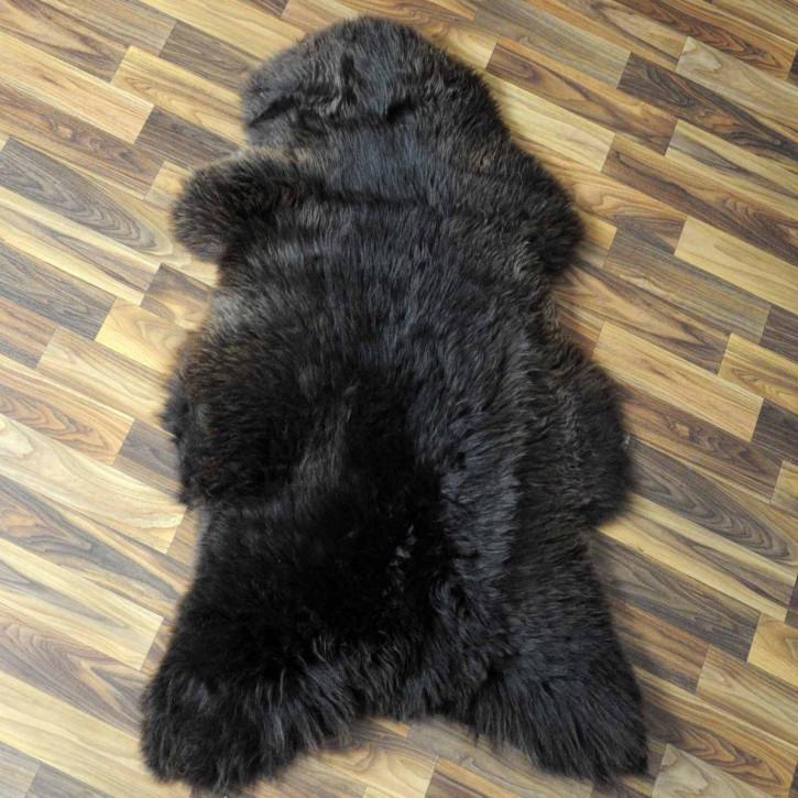 XL ÖKO Island Schaffell creme weiß 110x70 Fell Auflage #3964
