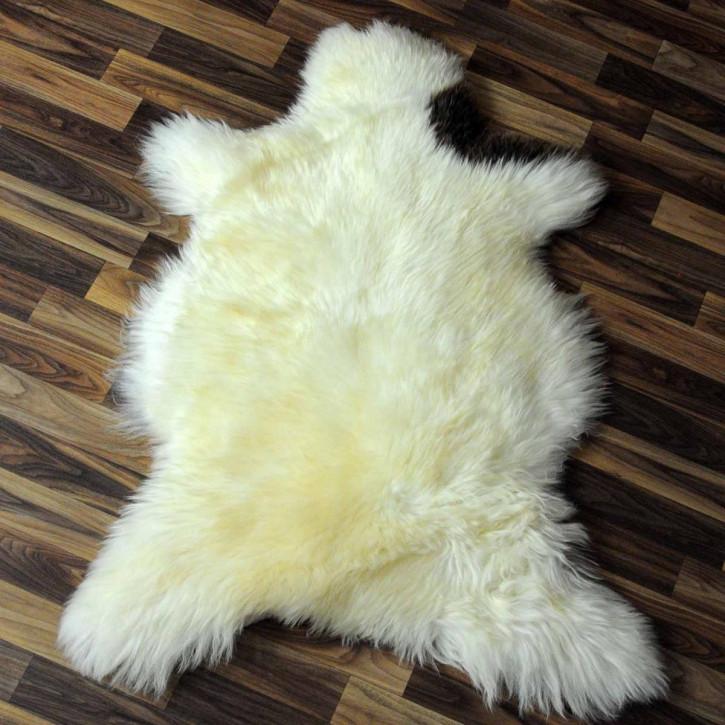 XL ÖKO Island Schaffell creme weiß 115x75 Fell Auflage #3980