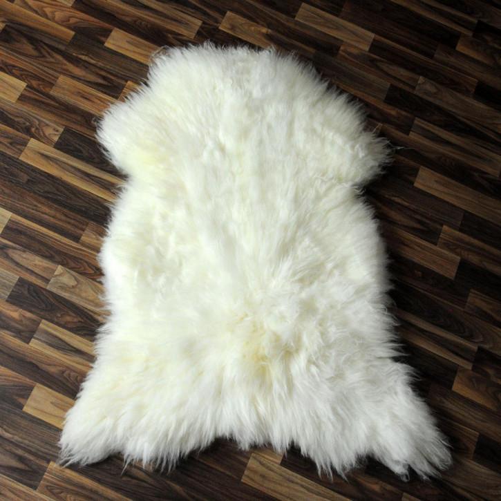 XL ÖKO Schaffell Fell Lammfell braun beige 110x70 Teppich #4070