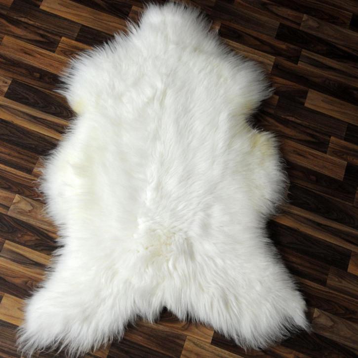 XL ÖKO Schaffell Fell braun 110x75 Auflage Teppich #4109