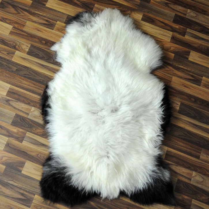 Ziegenfell Ziege Fell 95x65 Kamindeko goatskin #4390