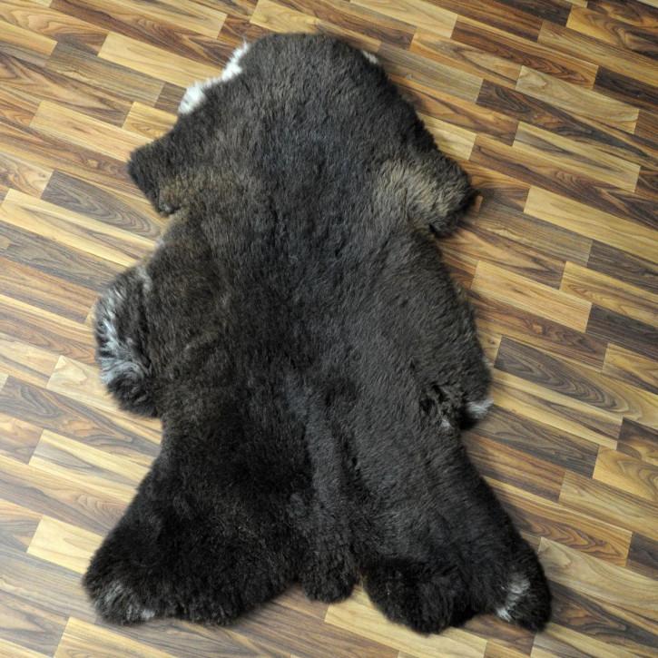 Ziegenfell Ziege Fell 115x75 Kamindeko goatskin #4393
