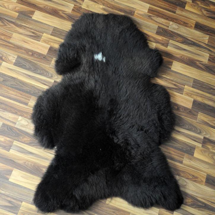 Ziegenfell Ziege Fell 110x90 Kamindeko goatskin #4394