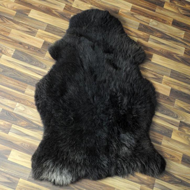 Ziegenfell Ziege Fell 105x75 Kamindeko goatskin #4397