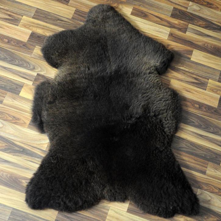 Ziegenfell Ziege Fell 115x75 Kamindeko goatskin #4398