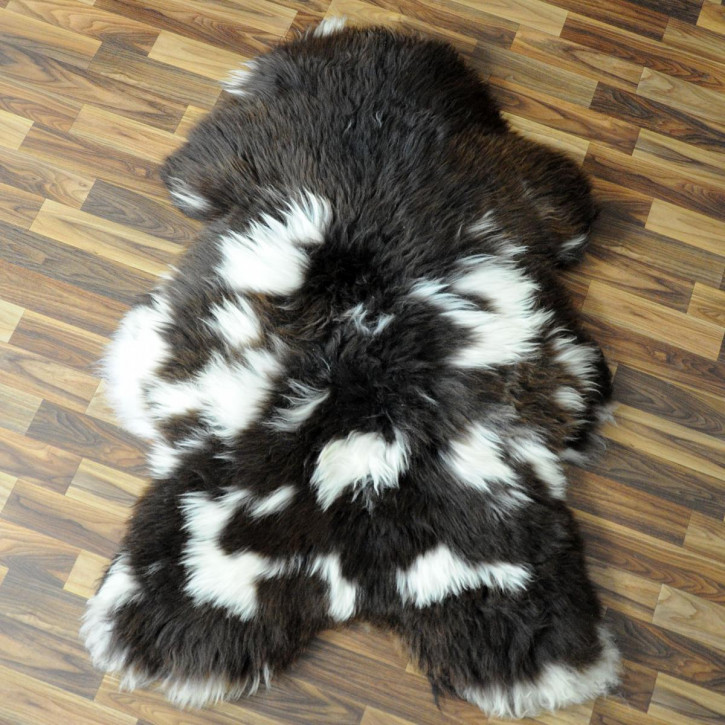 Ziegenfell Ziege Fell 115x85 Kamindeko goatskin #4399