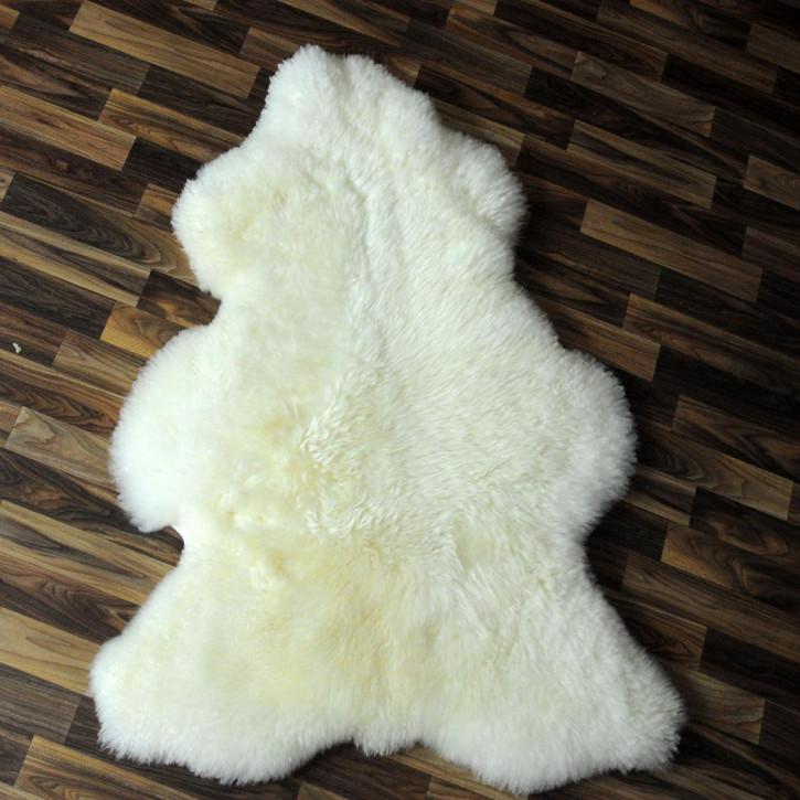 XL ÖKO Island Schaffell beige 110x75 Fell Auflage #4747