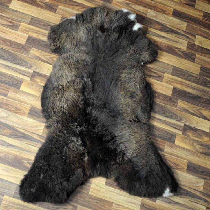 Island Schaffellteppich Decke 170x70 Teppich Patchwork #4791