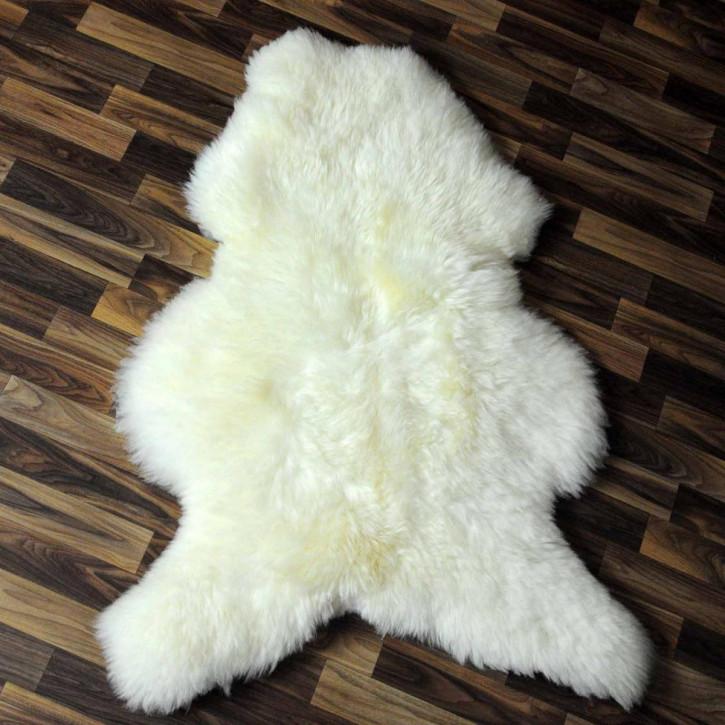 XXL ÖKO Island Schaffell schwarzbraun weiß 125x85 Krampus #5220
