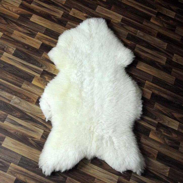 XXL ÖKO Island Schaffell schwarzbraun 125x70 Fell Auflage #5473
