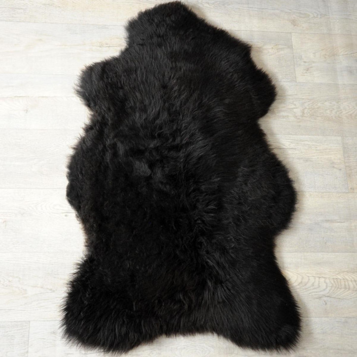 Ziegenfell Ziege Fell 110x60 Kamindeko goatskin gefärbt #5547