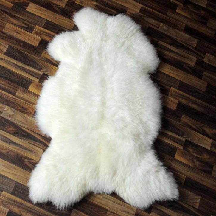 Ziegenfell Ziege Fell 100x60 Kamindeko goatskin gefärbt #5548